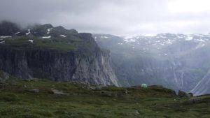 高原のキャンプ場